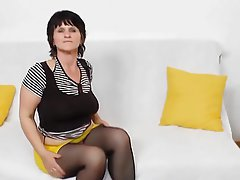 Masturbation, Mature, Czech