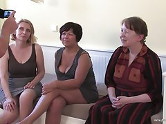 Group Sex, Granny, Mature, MILF