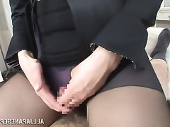 Asian, Blowjob, Handjob, MILF, Panties