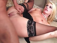 Blonde, Lingerie, Mature, MILF, Stockings