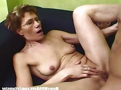 Cumshot, Granny, Mature, MILF, Old and Young