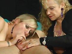BBW, Blowjob, German, Mature, Threesome