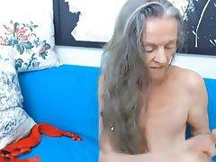 Webcam, Mature, Granny, Russian