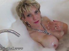 Blonde, Masturbation, Mature, MILF