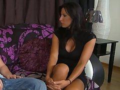 Brunette, Fucking, Hardcore, Housewife