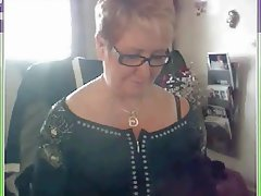 Amateur, French, Granny, Webcam