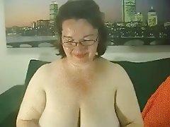 BBW, Big Boobs, Lingerie, Granny