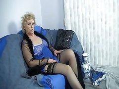 Amateur, Blonde, Mature, Stockings