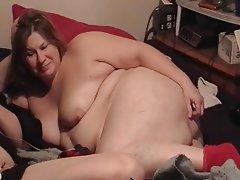 BBW, Close Up, Masturbation, Mature