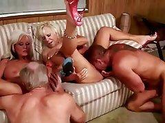 Granny, Group Sex, Mature
