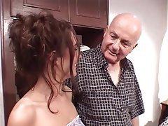 Blowjob, Facial, Brunette, Group Sex