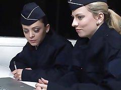 Blonde, Brunette, French, Lesbian